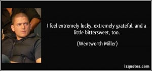 More Wentworth Miller Quotes