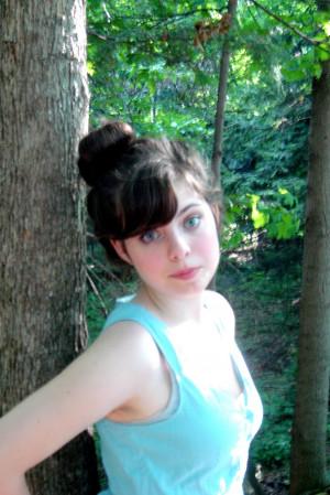 Blue Eyes Braid Brown Hair