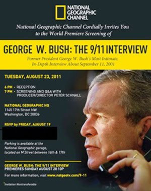 National Geographic : George W. Bush – A Entrevista Sobre O 11 De ...