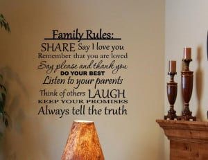 Family-Rules-Share-Say-I-love-you-Do-your-best-Quotes-Sayings-Wall ...
