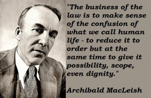 Archibald macleish quotes 3