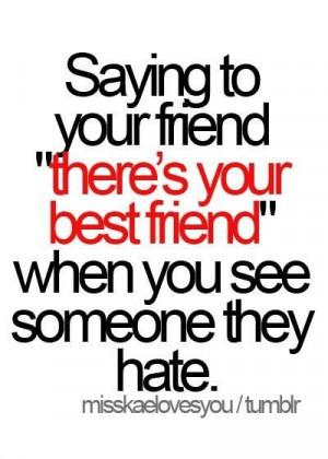 best friend, fact, friend, love, quote, text