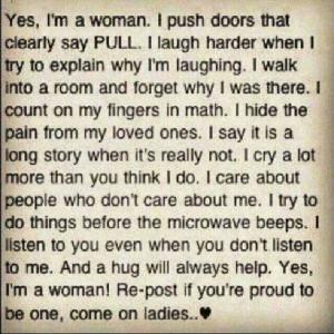 AM WOMAN HEAR ME ROAR