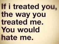 Being Unappreciated