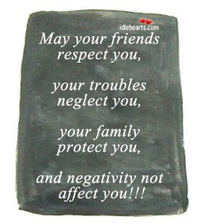 Respect Your Friends
