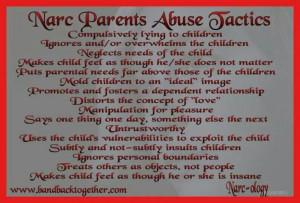 Parents Abuse Tactics