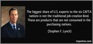 exports to the six CAFTA nations is not the traditional job-creation ...