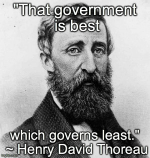 Thoreau and Emerson on Government