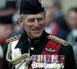 Prince Philip, Duke of Edinburgh.
