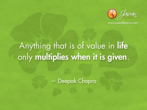 Love Deepak Chopra Quotes