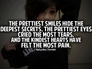 cry, fake, feelings, girl, hide, pain, quotes, thoughts, true