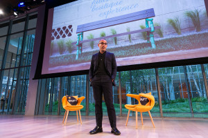 Avi Brosh, founder of Paligroup, at the Skift Global Forum in New York ...