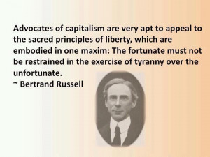 Bertrand Russell on capitalism