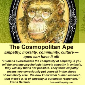 Chimps don't have language. Humans actively instruct others about how ...