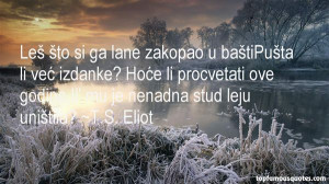 Favorite TS Eliot Quotes