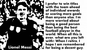 Soccer Quotes Pele Lionel messi quotes with
