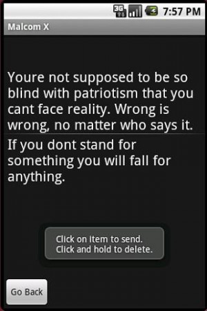Malcolm X Quotes - screenshot