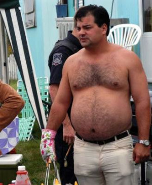 Randy (Trailer Park Boys) Dressed in trailer park chic