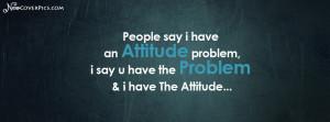 Awesome Attitude Quotes Facebook Cover Photo
