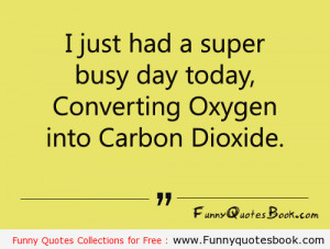 Funny Quotes about Busy Day