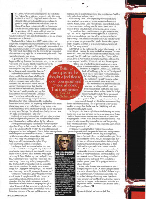 ... on the images to enlarge. Great quotes from Duff McKagan as well