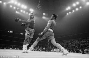 The world was watching: Muhammad Ali steps away from Joe Frazier's ...