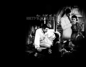 Scarlett O'Hara and Rhett Butler - scarlett-ohara-and-rhett-butler Fan ...