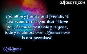 Inspiration Quote, Quote about Love | I just want to tell you that..