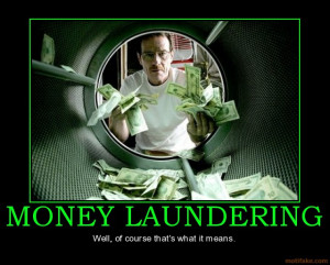 WHEN DOES A STIMULUS BILL = MONEY LAUNDERING??