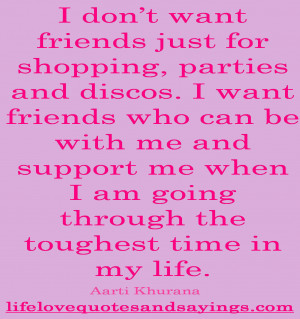 Support Quotes For Friends