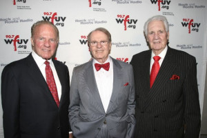 Frank Gifford, Charles Osgood and Pat Summerall