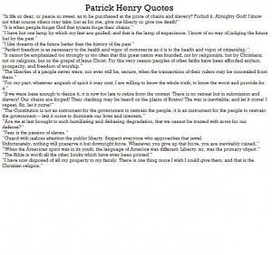 Patrick Henry Facts . Patrick Henry Biography . Apples4theteacher ...