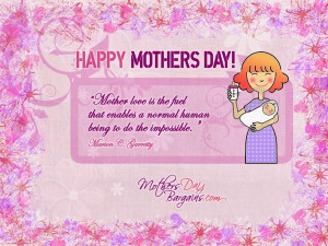 Happy Mother's Day 2014 Inspirational Quotes Messages