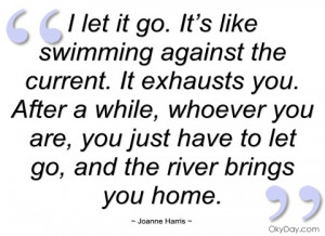let it go joanne harris