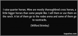 Wilford Brimley Quotes