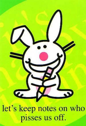 All Graphics » all happy bunny quotes