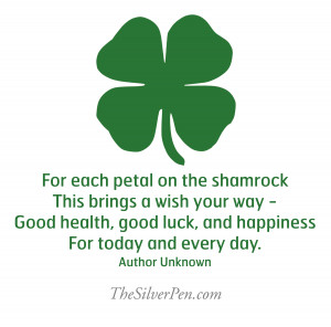 ... Inspirational Picture Quotes About Life Tagged With: St. Patrick's Day
