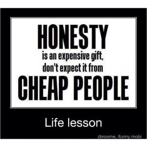 Cheap people