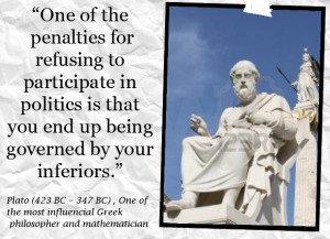 Participation Quotes - Participate Quote - One of the penalties for ...