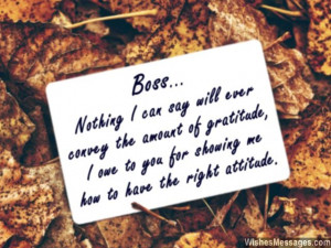 ... boss there are many ways in which you can say thank you to your boss
