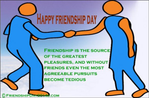 Happy Friendship Day New Quotes: 2015