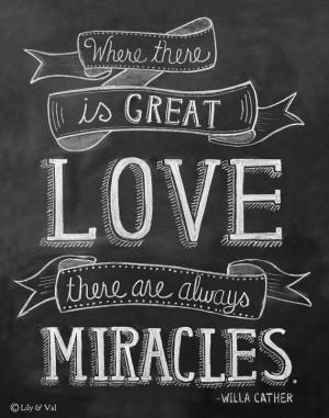 ... Quote Print - Love Quote Print - Chalkboard Art - 11x14 Print - Chalk