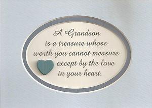 GRANDSON-Treasure-LOVE-In-Your-HEART-Measure-Worth-sayings-verses ...