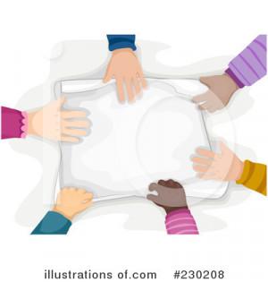 Teamwork Clip Art Illustrations
