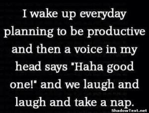 Laugh and Take a Nap