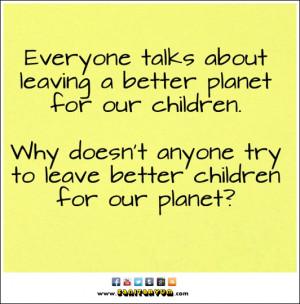 Children for a Better Planet