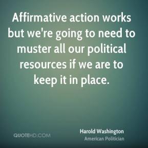 Harold Washington Quotes