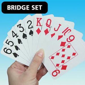 Playing Bridge Card Game
