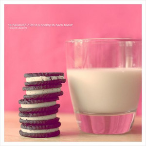 Cookies and Milk! And heart the quote too