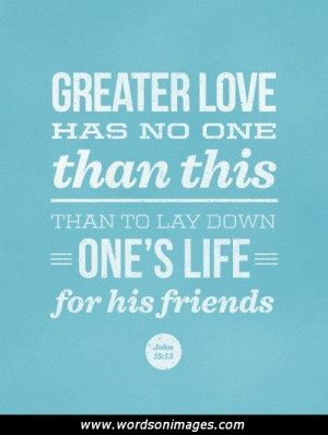 Bible Verses Friendship Quotes